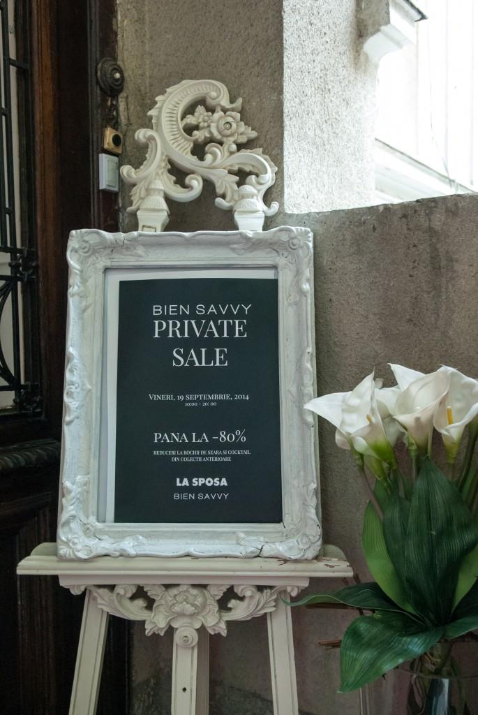 BIEN SAVVY: Private Sale