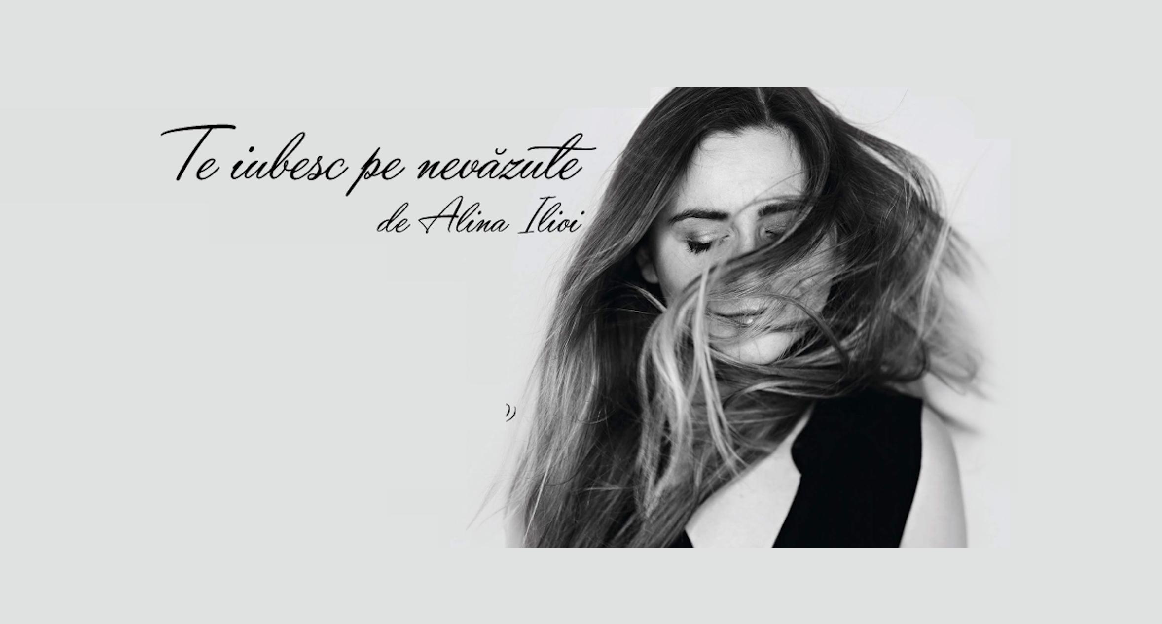 """Alina Ilioi lanseaza cea de-a doua carte - """"Te iubesc pe nevazute"""""""